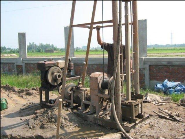 Dịch vụ khoan giếng tại Hà Nội